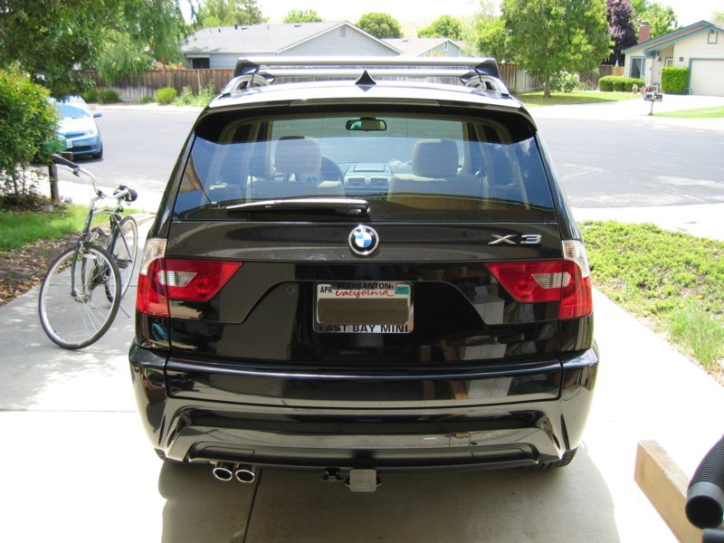 Bmw x3 trailer hitch installation